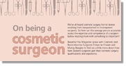 om being a cosmetic surgeon review