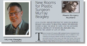 New Rooms for Plastic Surgeon